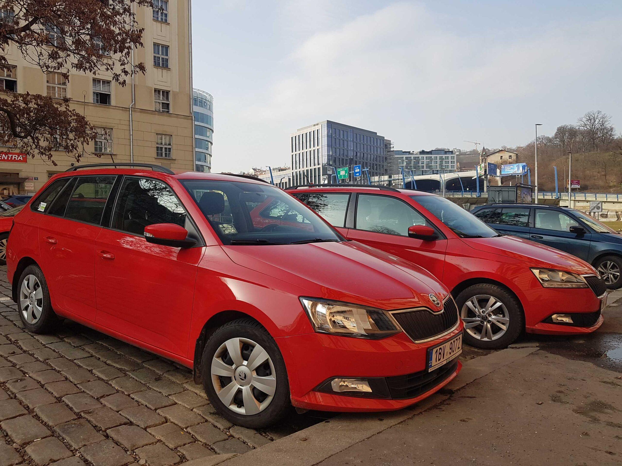 Škoda Fabia Autonapůl
