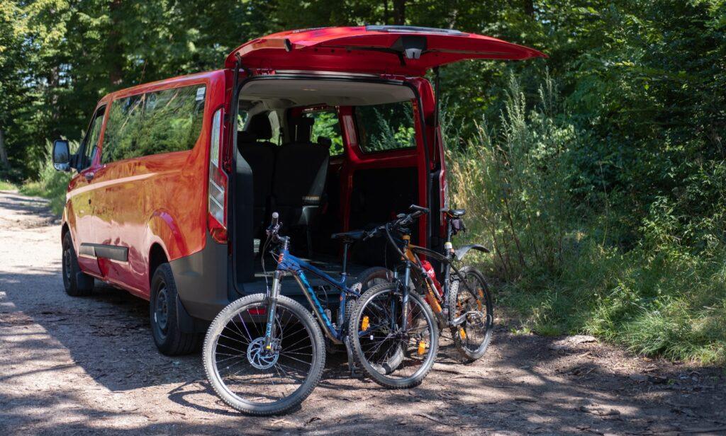 Ford Transit Autonapul na teambuilding