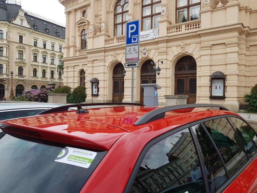 Parkování v Liberci Autonapůl