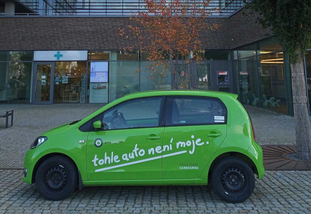 Carsharing Brno - Citigo Autonapůl