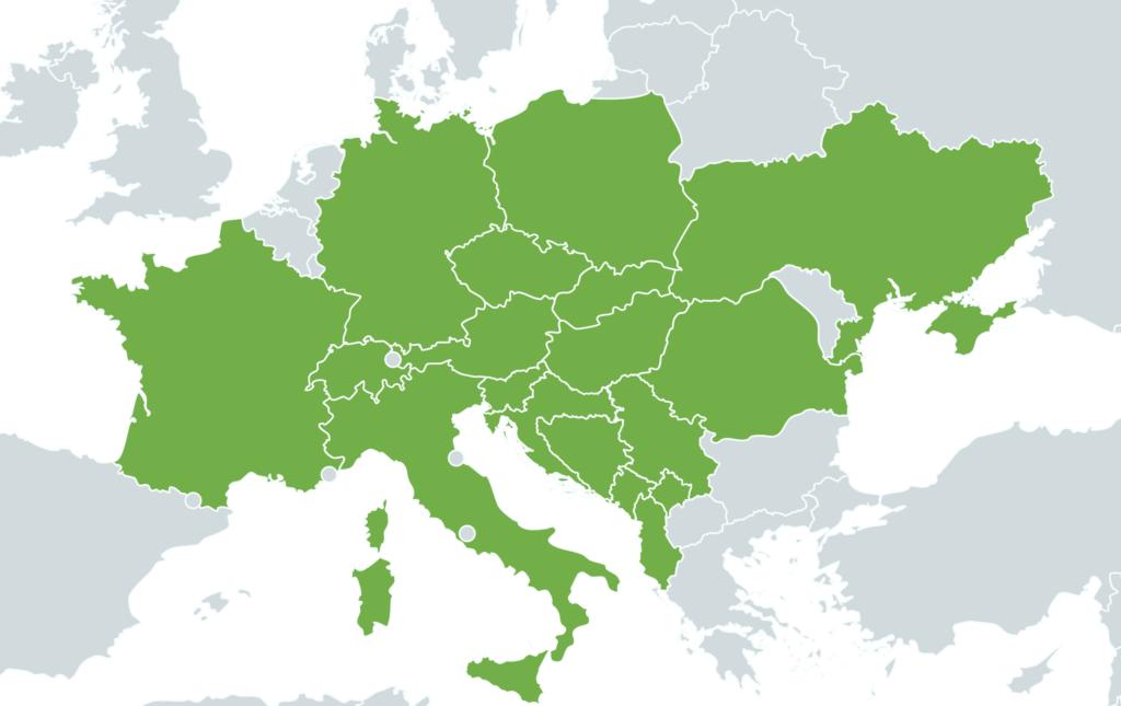 2020 pro Autonapůl - mapa cest