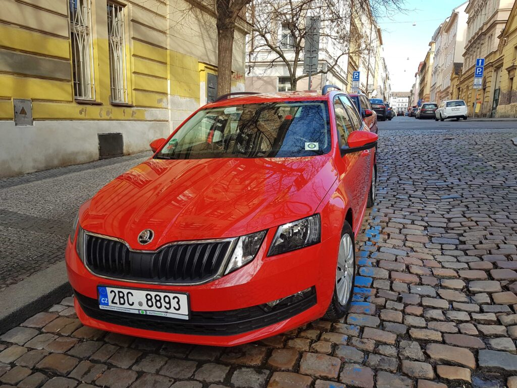 Carsharing Prague - Residential parking