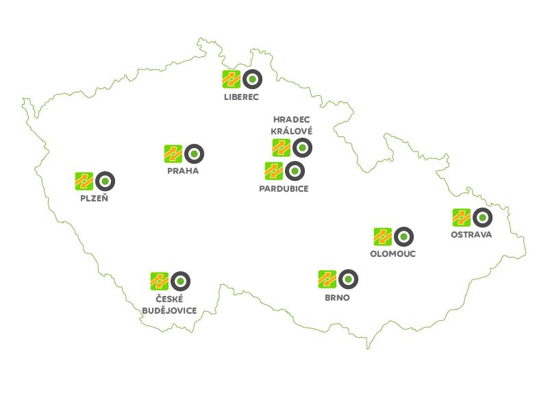 Autonapůl a FlixBus společně v 9 městech