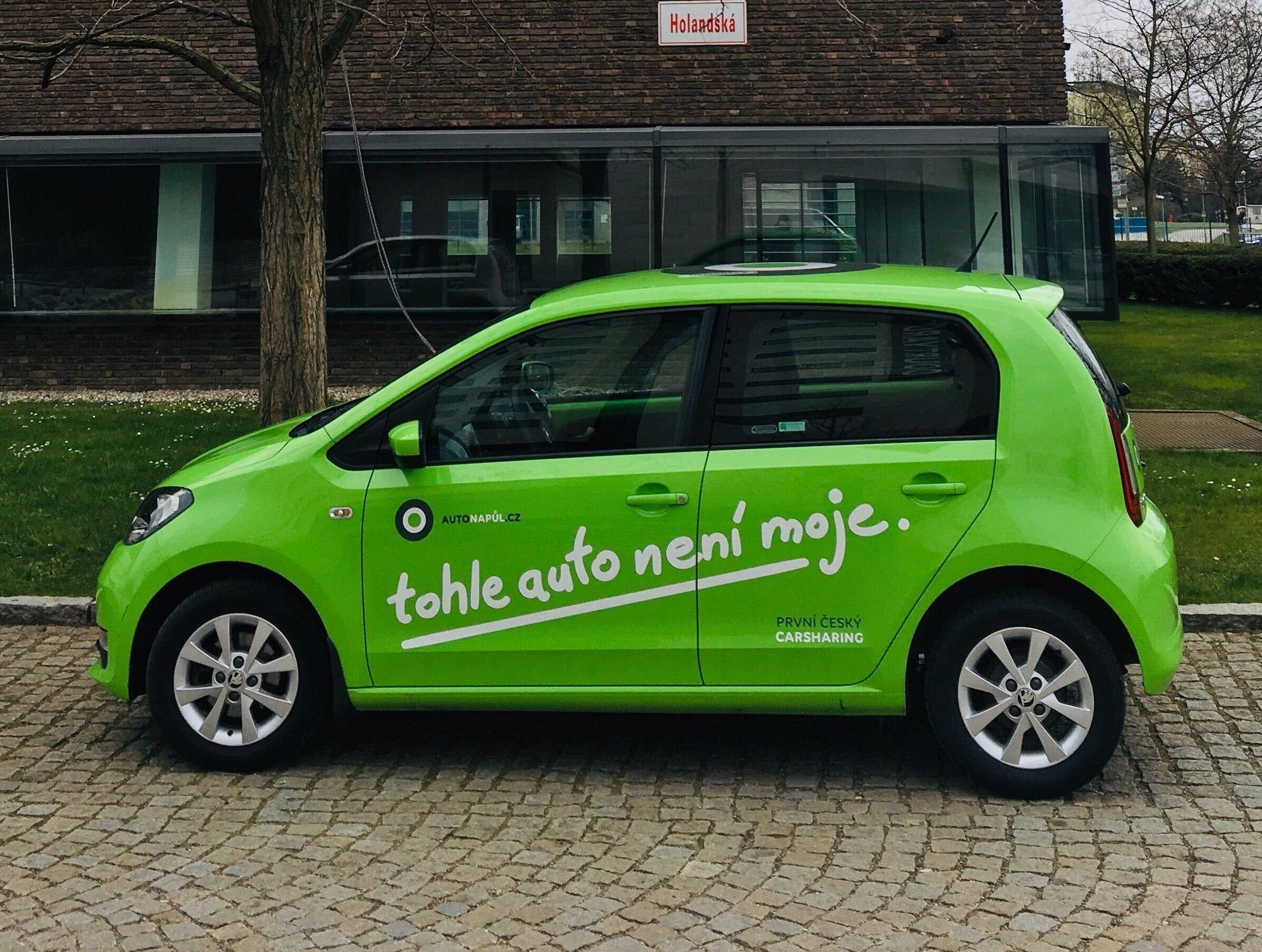 Carsharing cenik budget