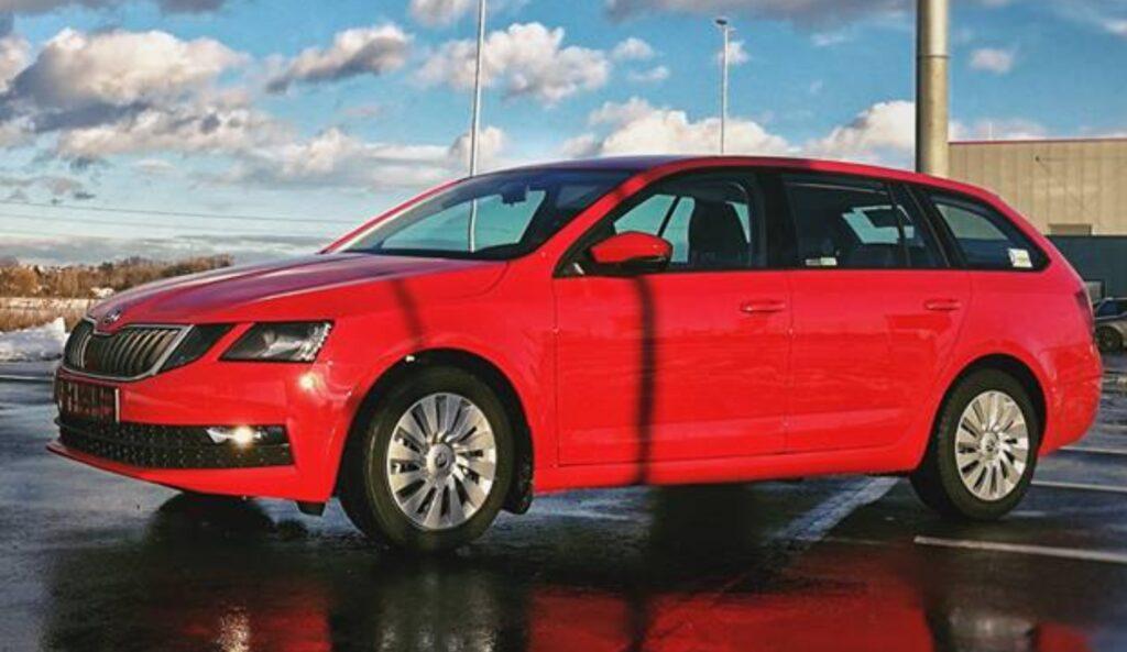 Octavia Autonapůl - carsharing pro firmy